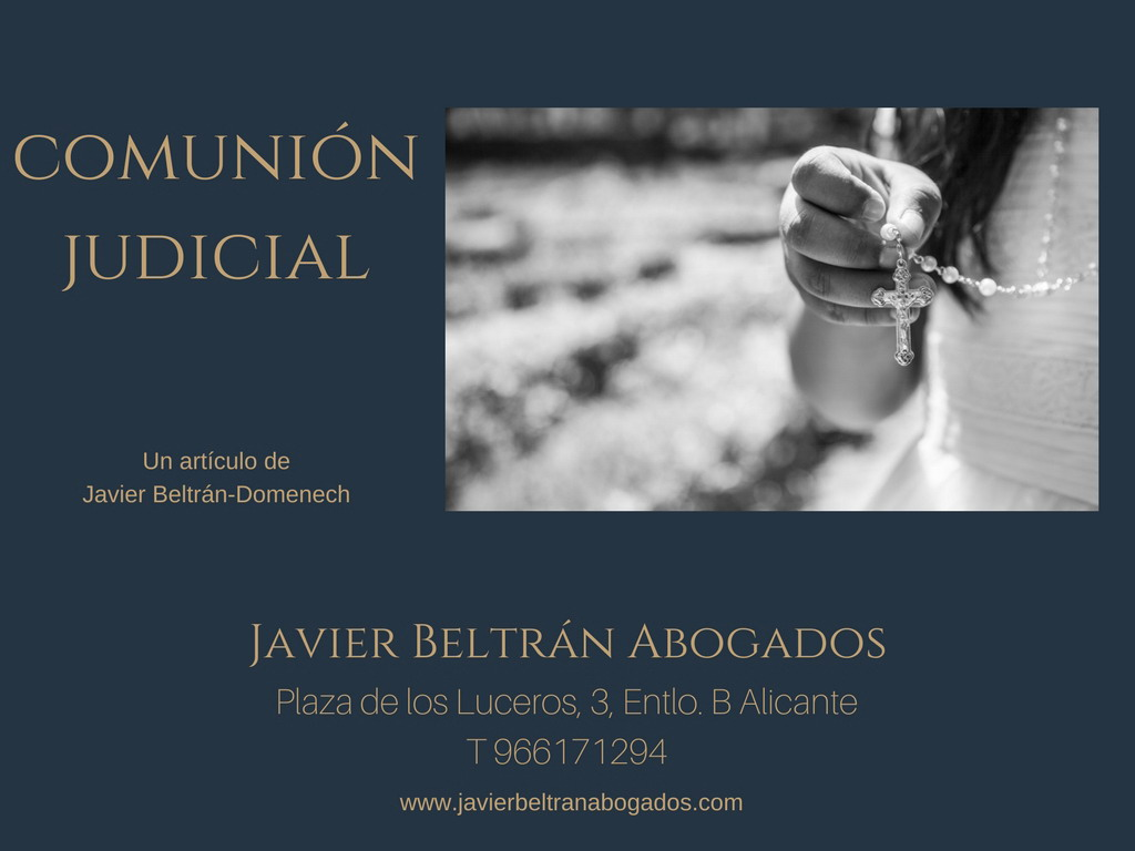 comunión judicial