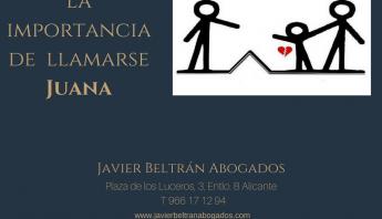 La importancia de llamarse Juana
