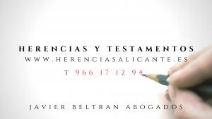 Testamento inglés o español